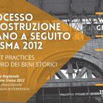 restauro dei beni storici sisma emilia