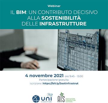 BIM per le infrastrutture – 4 novembre 2021.