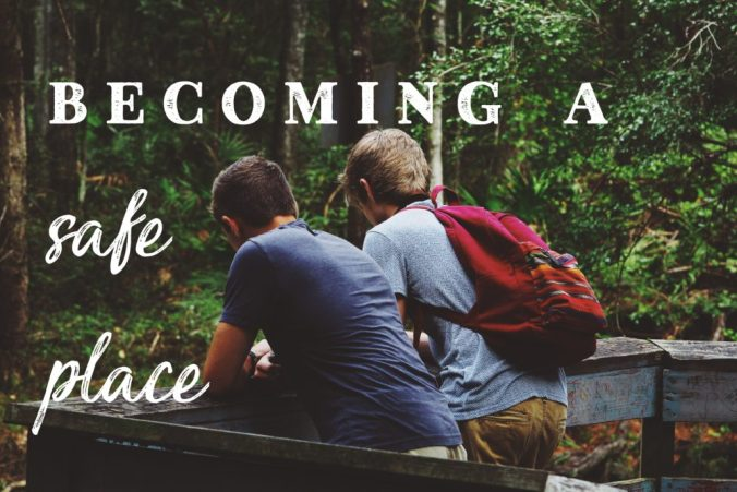 becoming a safe place person of refuge