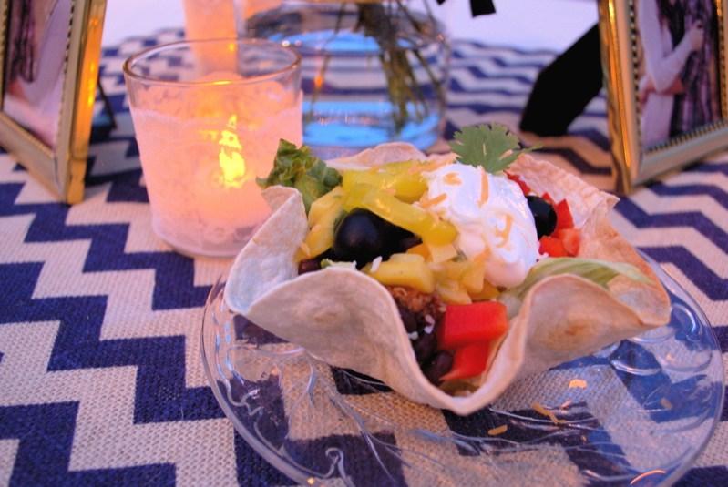 "Taco Salad & ""Unfried"" Ice Cream Recipes"