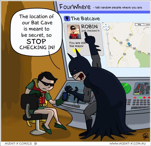 Bat cave check ins