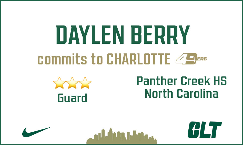 Daylen Berry commits to Charlotte
