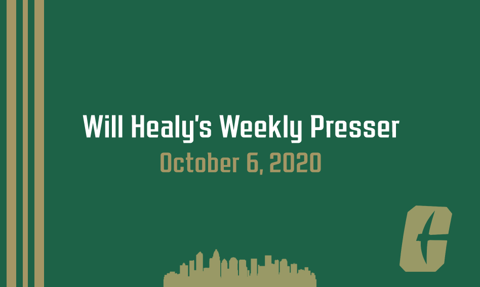 Will Healy's weekly press conference | October 6, 2020