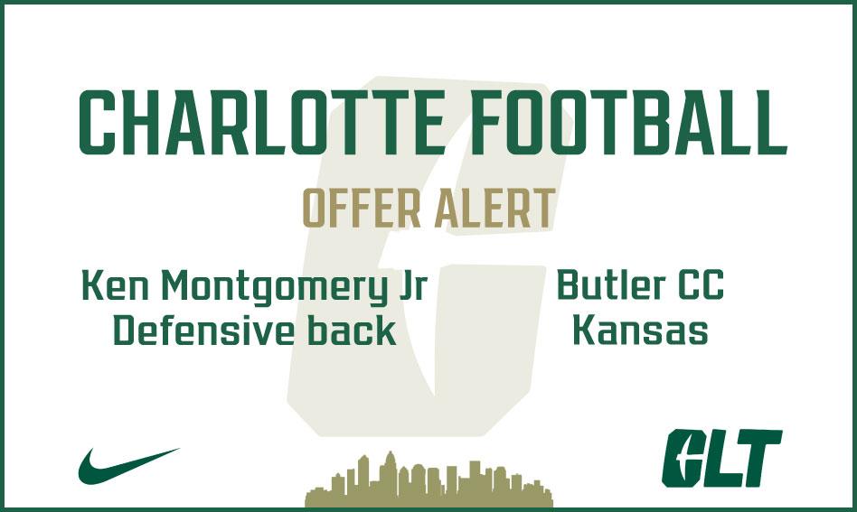Charlotte Football offers Ken Montgomery Jr