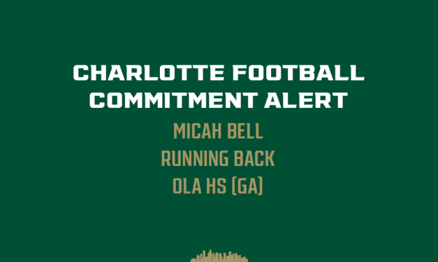 Georgia Running Back Micah Bell commits to Charlotte