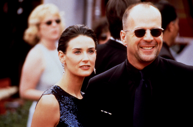Demi Moore Bruce Willis