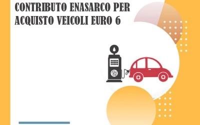 """Contributo Enasarco per l'acquisto di veicoli """"euro 6"""""""
