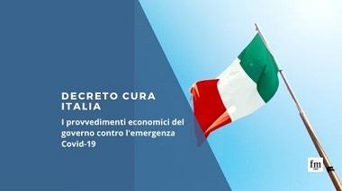 """DECRETO """"CURA ITALIA"""": MISURE PER GLI AGENTI"""
