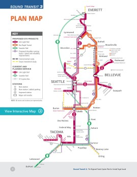 Sound Transit 3: The Regional Transit System Plan for Central Pu