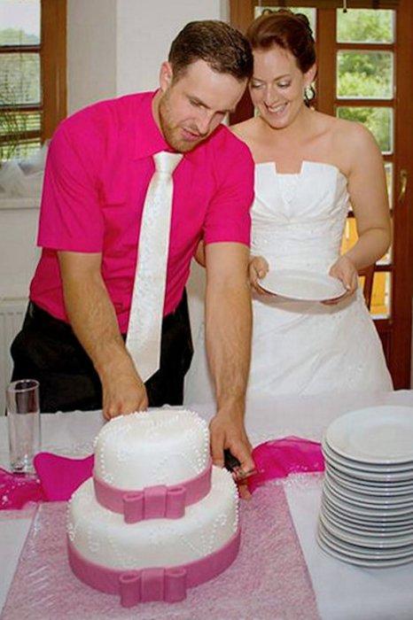 Organizace svatby: svatební dort