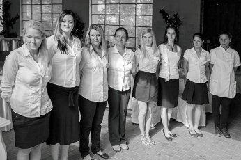 Organizace svatby: cateringový tým