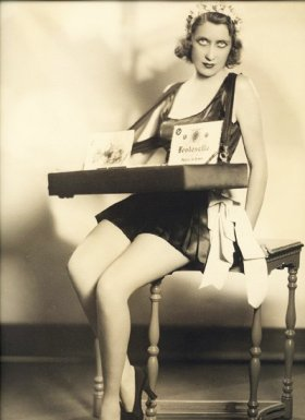 ziegfeld follies cigarette girl