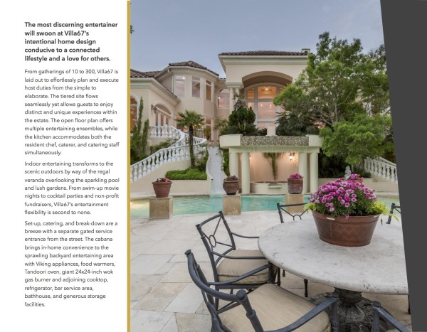 luxury property brochure realtor real estate agent operations