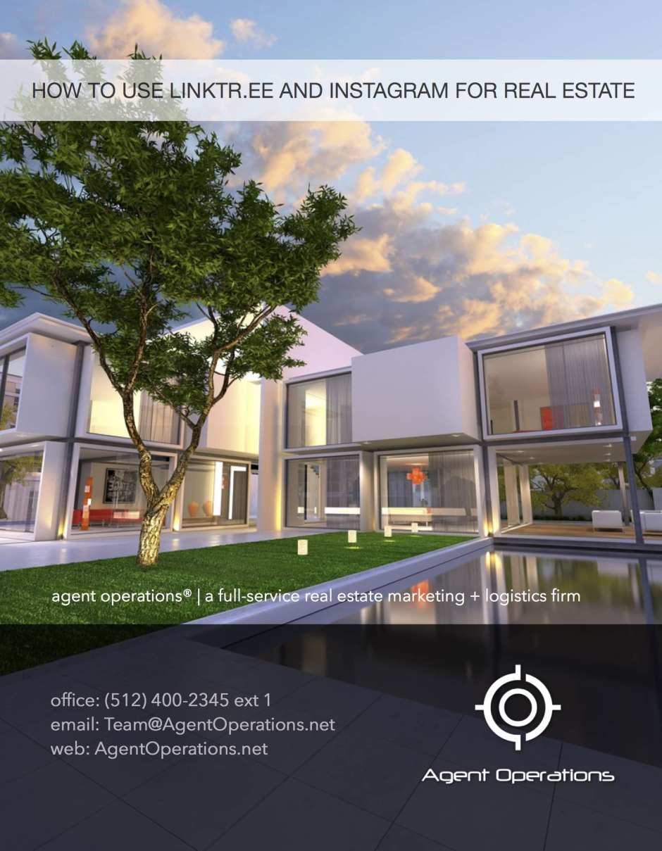 real estate agent operations real estate marketing ideas