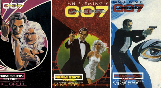 Mike Grell Permission To Die Covers