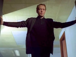 Patrick McGoohan Flinging Open Double Doors