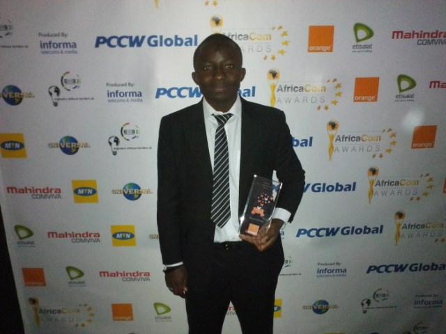 interview exclusif:lauréat du Prix Orange de l'Entrepreneur Social en Afrique édition 2013