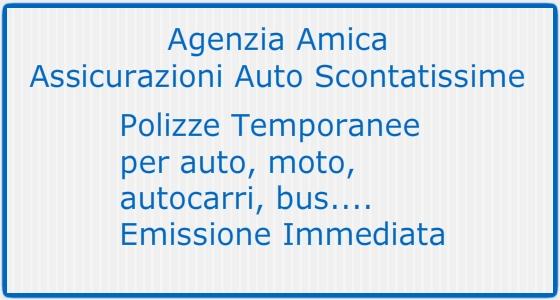 Agenzia Amica - Polizze Temporanee