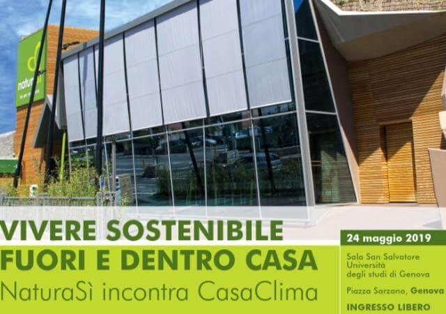 Il 24 Maggio NaturaS incontra CasaClima a Genova