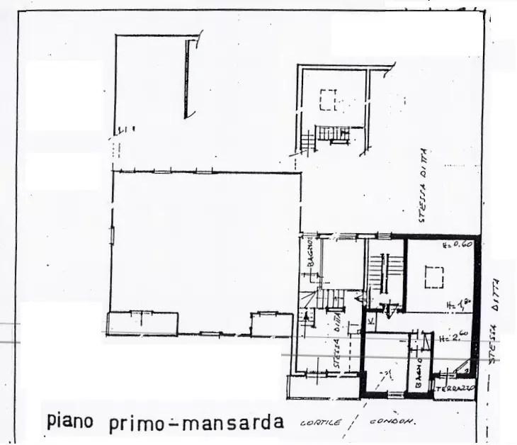Appartamento Fiumalbo Via Lago Mansarda Tre vani Mq 40 (1)