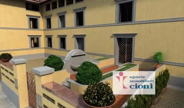 Bilocale Firenze San Frediano Mq 60 Piano Primo arredato
