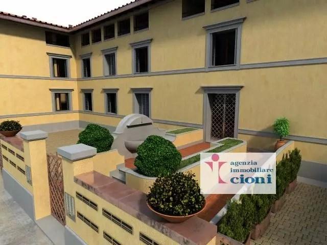 Trilocale Firenze San Frediano Mq 90 Piano terra Rialzato arredato (7)