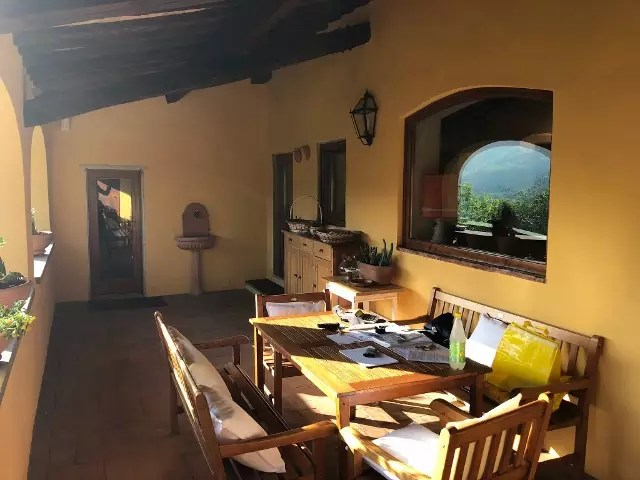 Villa Leopoldina Mq 400 Firenze Pontassieve 15 vani terreno 2,5 Ettari Appartamento Piano Primo (30)