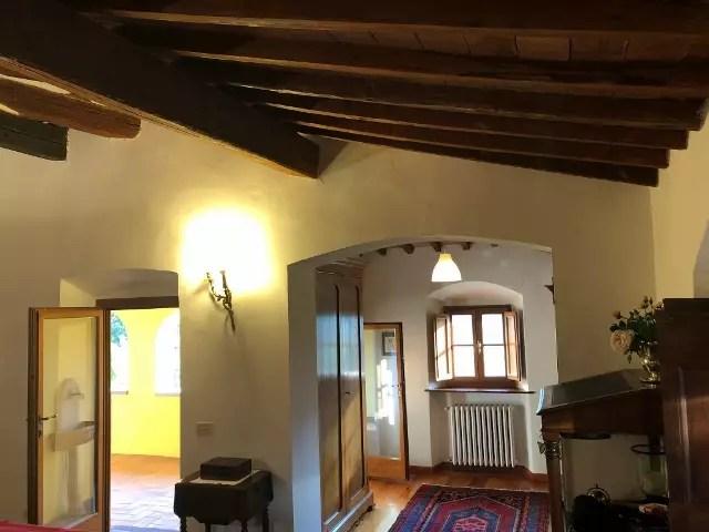 Villa Leopoldina Mq 400 Firenze Pontassieve 15 vani terreno 2,5 Ettari Appartamento Piano Primo (46)