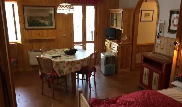 Appartamento Bilocale Abetone Pescinone Mq 58 Piano Terra Giardino Mq 100