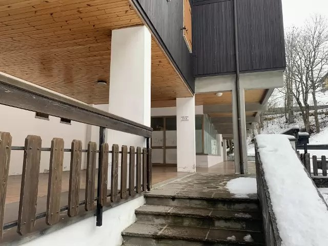 Mansarda Monolocale Mq 40 con Soppalco Mq 40 Fiumalbo Via Giardini quarto Piano Garage Cantina sottoteto (5)