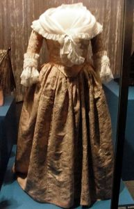 Martha Washington's Pink Damask Gown Circa 1780