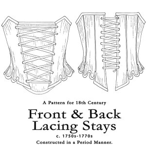 Larkin and Smith Front and Back Lacing Stays