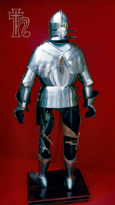 Milanese Armour From The Back Age Of Armour