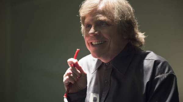 "The Flash -- ""Tricksters"" -- Image FLA117A_0117b -- Pictured: Mark Hamill as James Jesse -- Photo: Diyah Pera/The CW -- © 2015 The CW Network, LLC. All rights reserved."