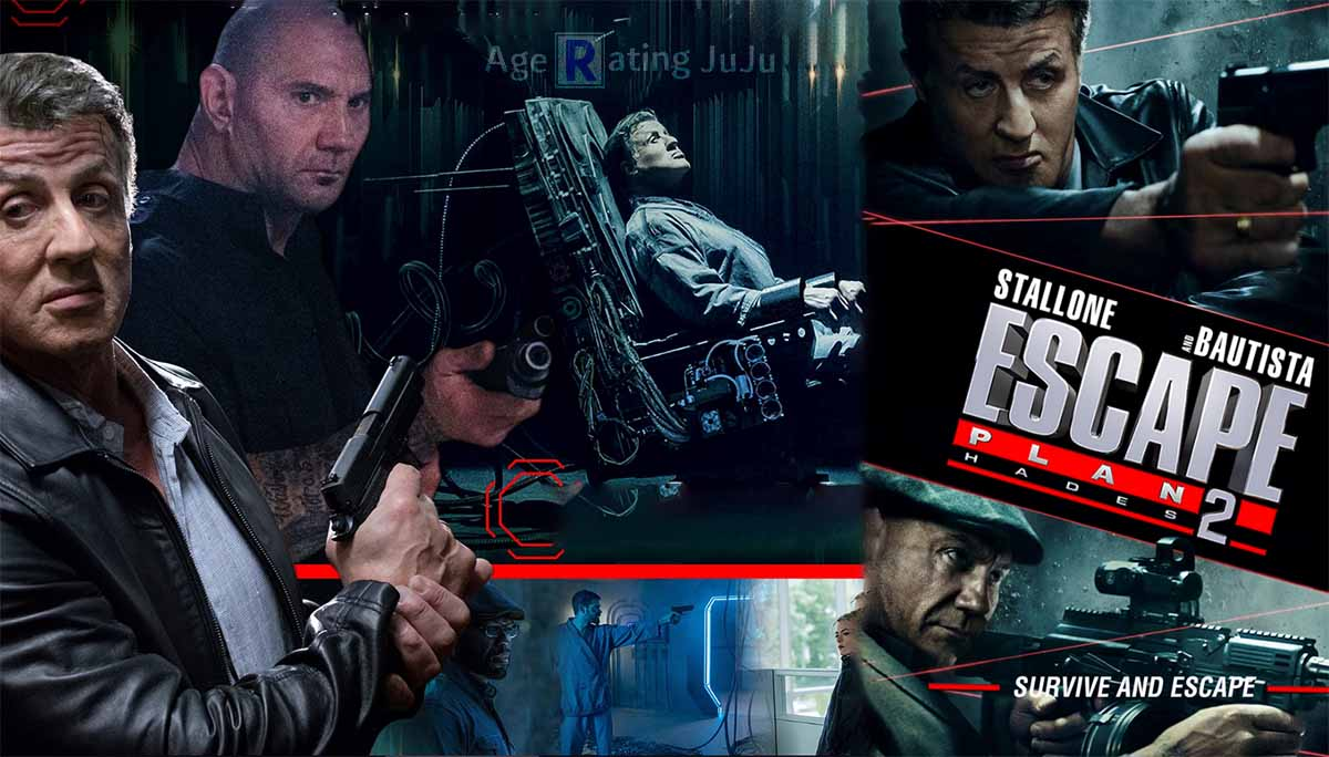 Movie Poster 2019: Escape Plan 2 Age Rating