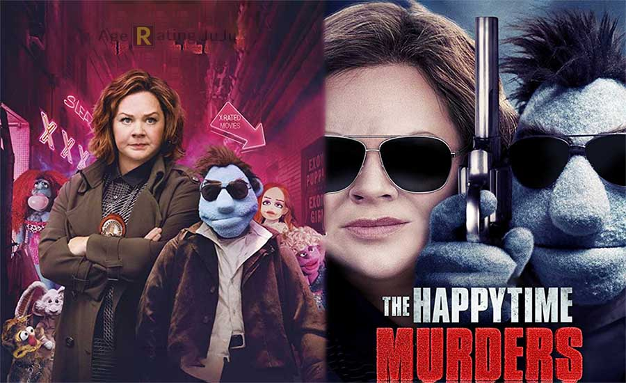Movie Poster 2019: The Happytime Murders Age Rating