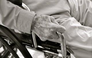 Older Man in wheelchair