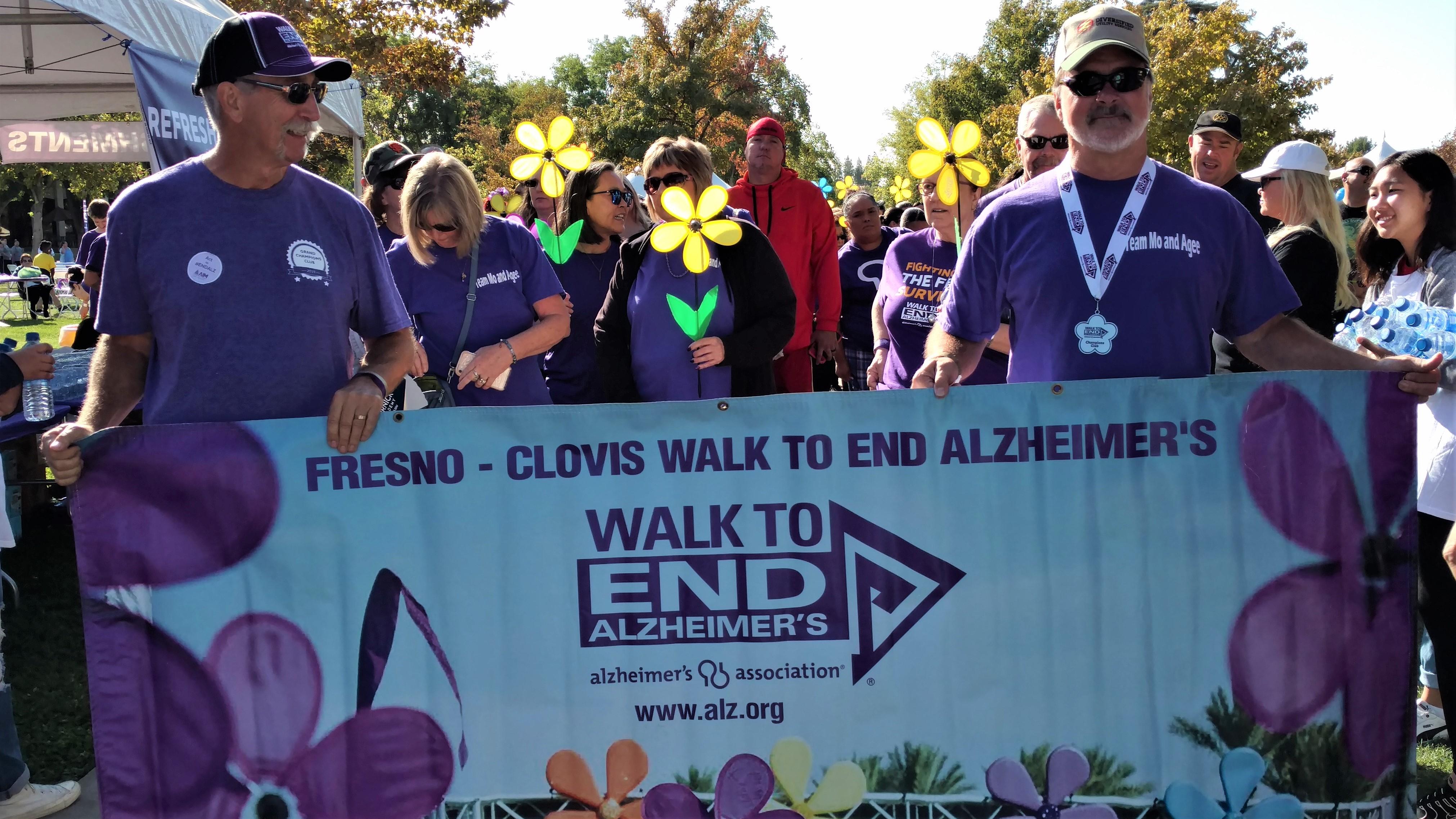 Alzheimers Walk 2019