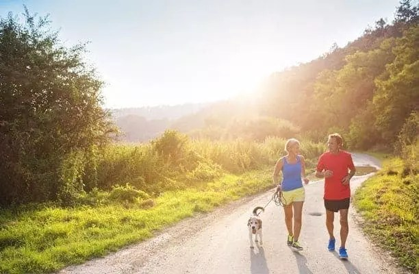 benefits of getting fit when you're older