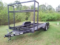 FS: 16' Anderson Open trailer with tire rack.