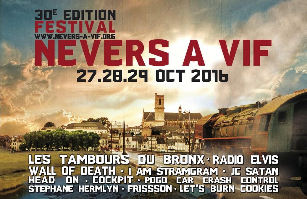 Nevers à Vif : 30e édition !