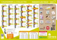 calendrier 2017 Parigny