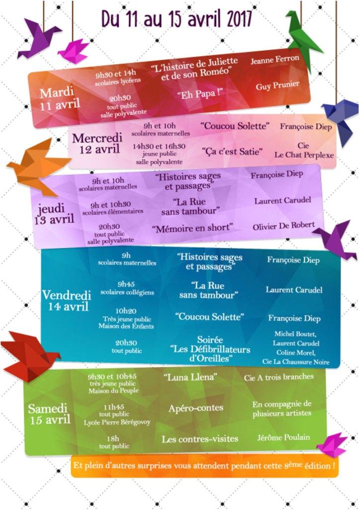 festival Tant de Paroles 2017