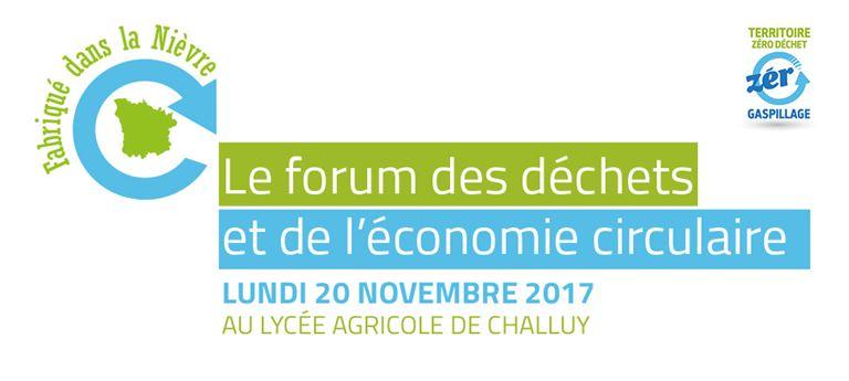 Forum annuel  des déchets et de l'économie circulaire de la Nièvre
