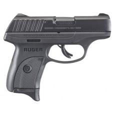 """Ruger 3283 EC9s Standard Double 9mm Luger 3.12"""" 7+1 Black Polymer Grip/Frame Grip Black"""