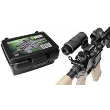 Samson 3XM-SMAG 3.5x Magnifier w/Quick Flip Mount 3.5x 35mm Obj Eye Relief  Black Matte