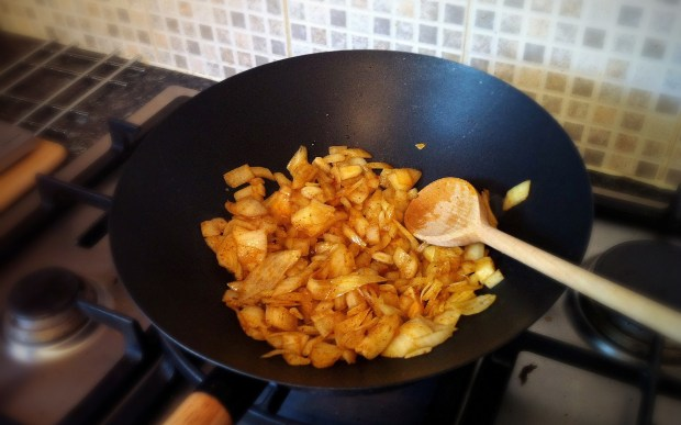 Chicken Rogan Josh Curry - Cooking the Onions