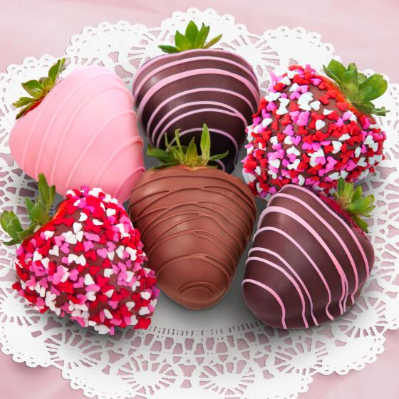 Love Berries Chocolate Covered Strawberries 6 Berries