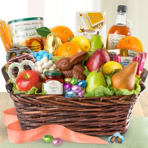 Family Brunch Easter Basket  AA5010E  A Gift Inside