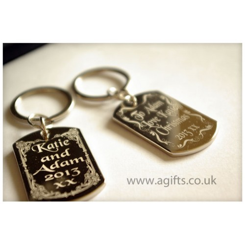 keyring with names